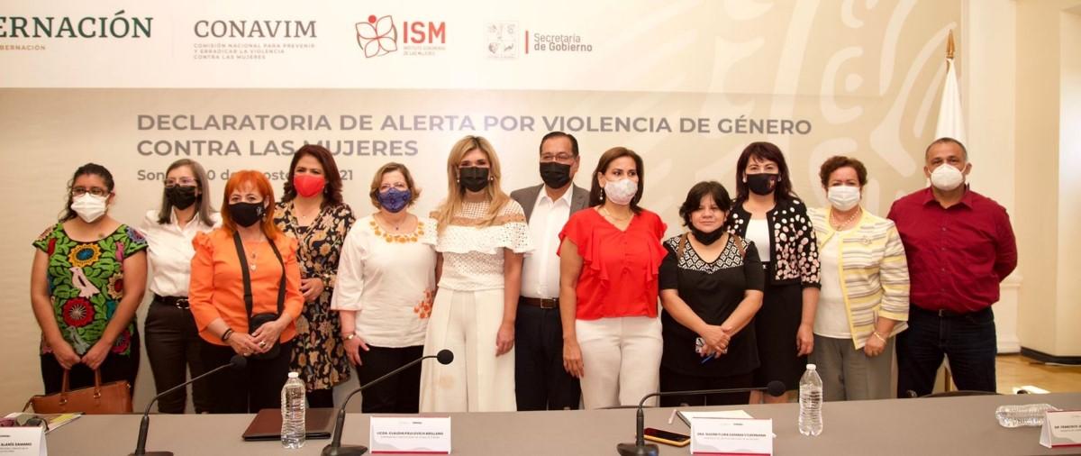 Emite Conavim Declaratoria de Alerta de Violencia de Género para los municipios de San Luis Río Colorado, Nogales, Hermosillo, Guaymas, Empalme y Cajeme