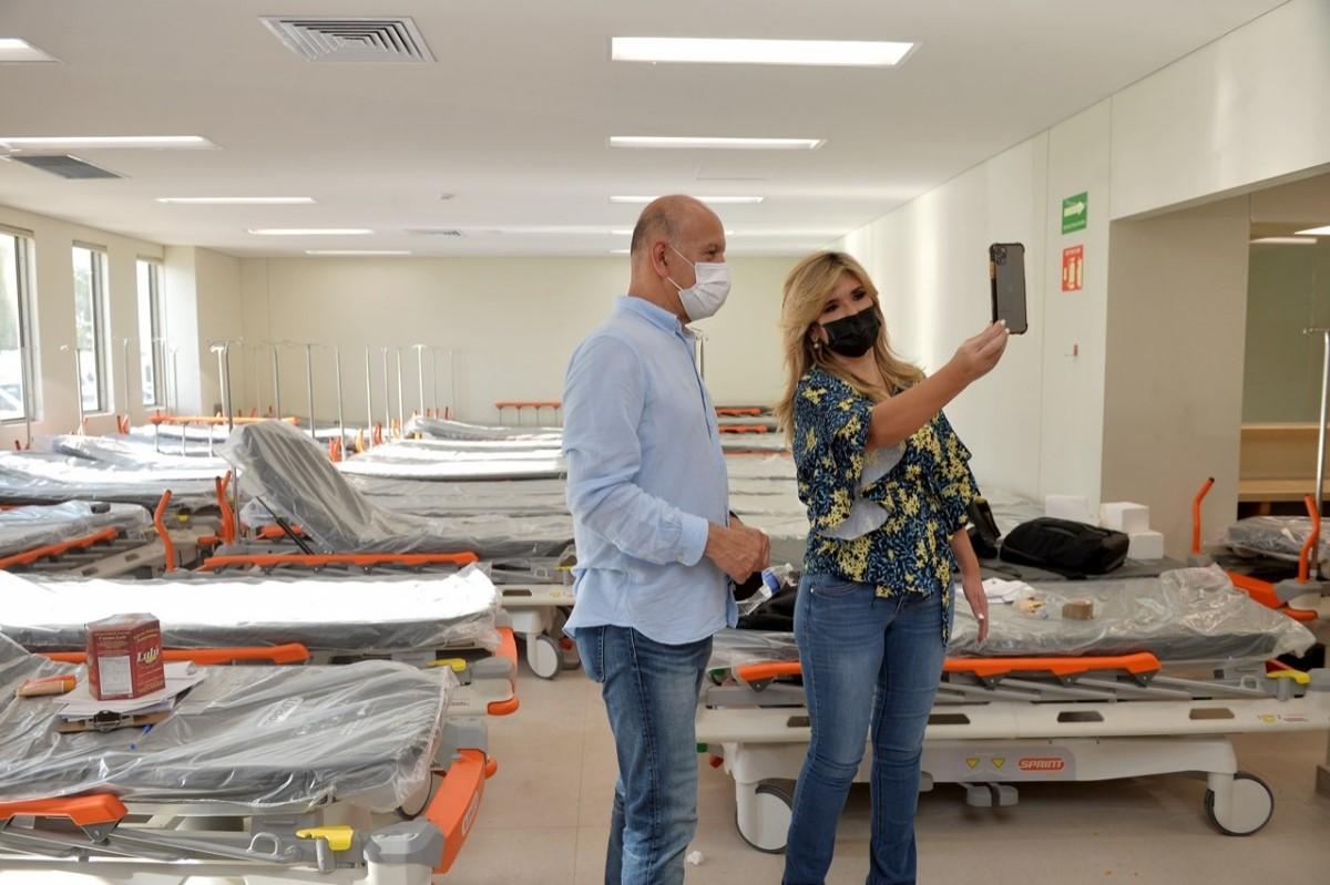 Inicia equipamiento de nuevo Hospital General del Estado: Claudia Pavlovich