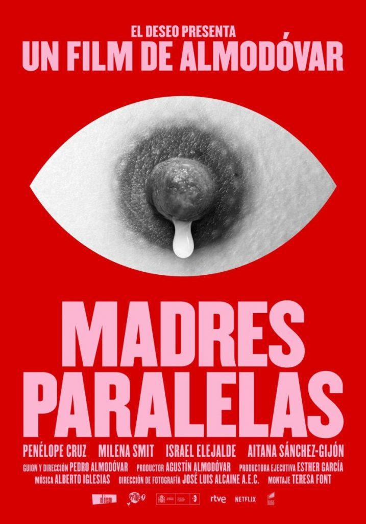Póster de Madres Paralelas, la nueva cinta de Pedro Almodóvar