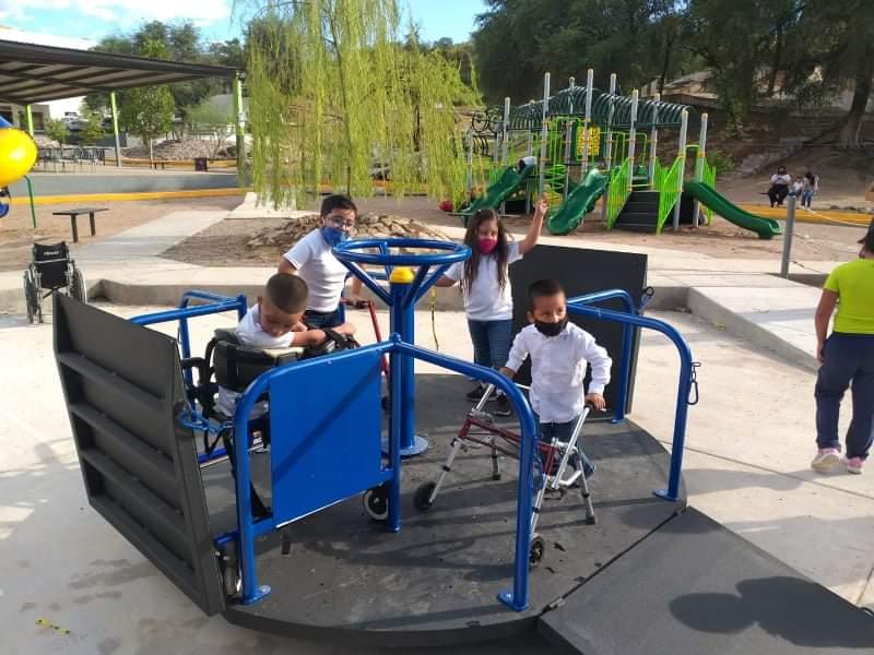 Por inaugurar, el primer parque infantil inclusivo en Nogales