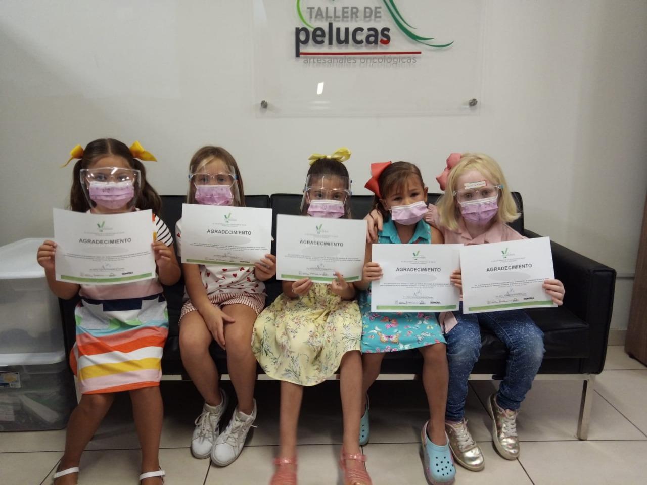 ás de 2000 donaciones de cabello ha recibido el Taller de Pelucas Artesanales de Salud Sonora
