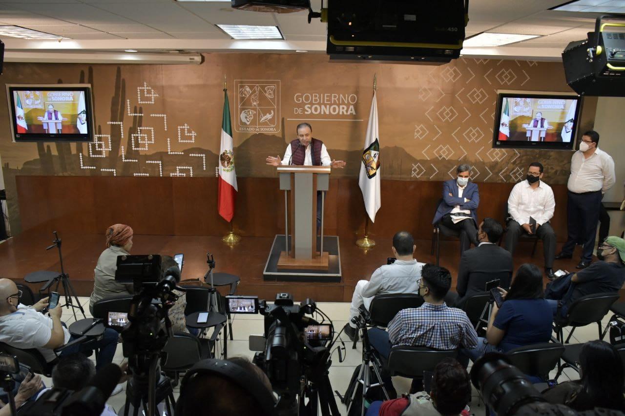 Alfonso Durazo anuncia nuevos nombramientos de titulares de dependencias.