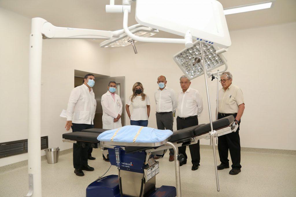 Entregan Gobernadora Pavlovich y Presidente López Obrador obra del nuevo Hospital General del Estado y supervisan equipamiento