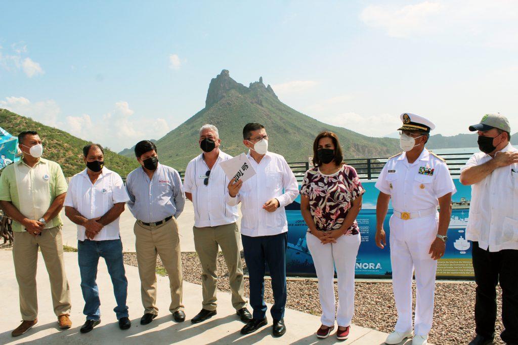 Todo listo para hundimiento de buque ExSantos en el Mar de Cortés en Guaymas