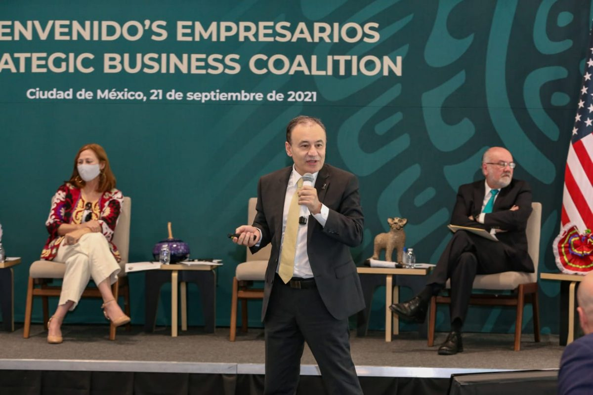 Busca gobernador Durazo mayores inversiones para Sonora.