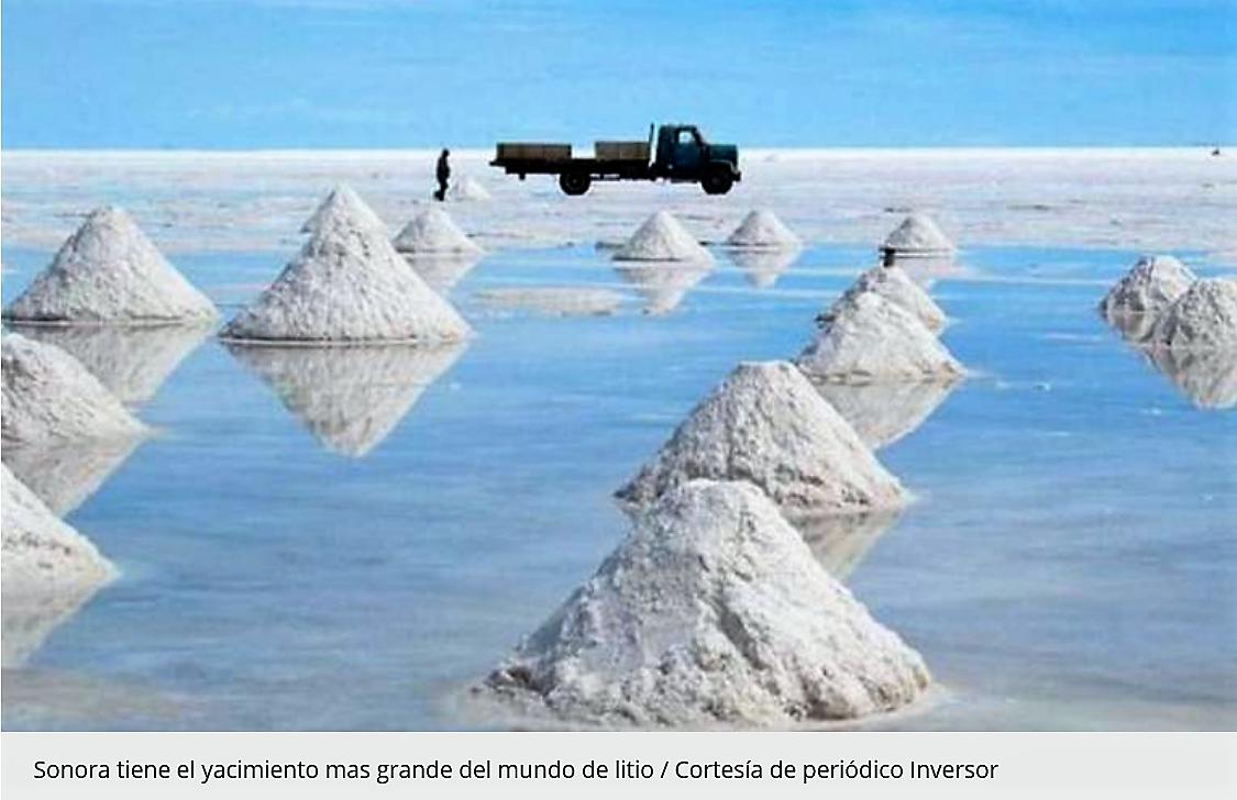 Descubren en Sonora 14 puntos más de litio