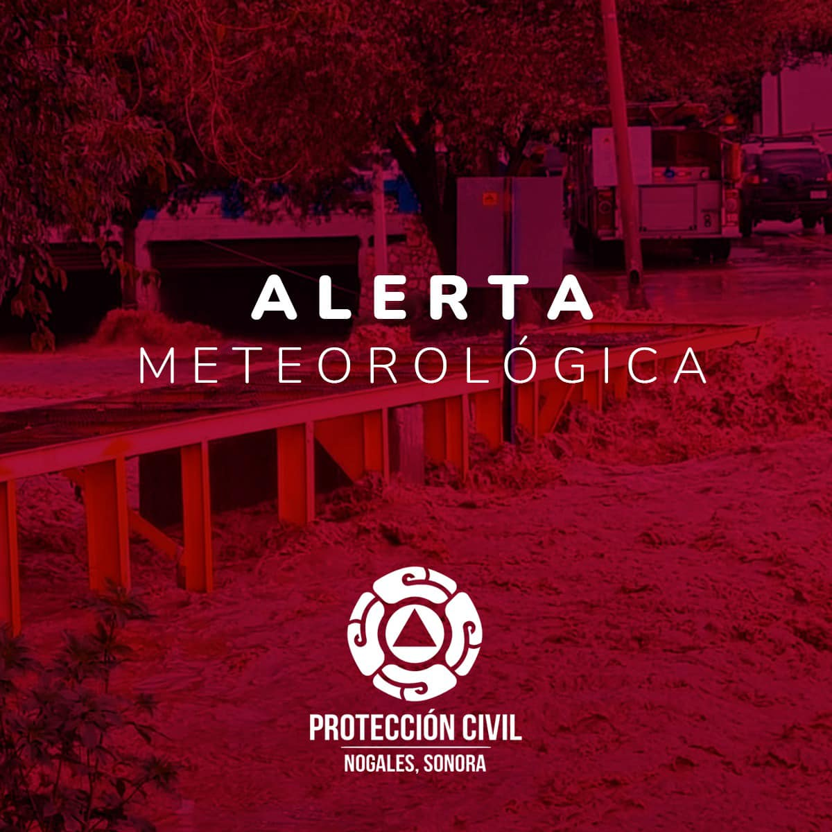 Alerta por Lluvias en Nogales