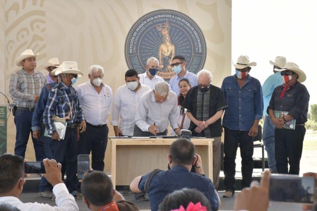 Petición de perdón a yaquis, reencuentro con la memoria, la justicia y la reconciliación: Alfonso Durazo