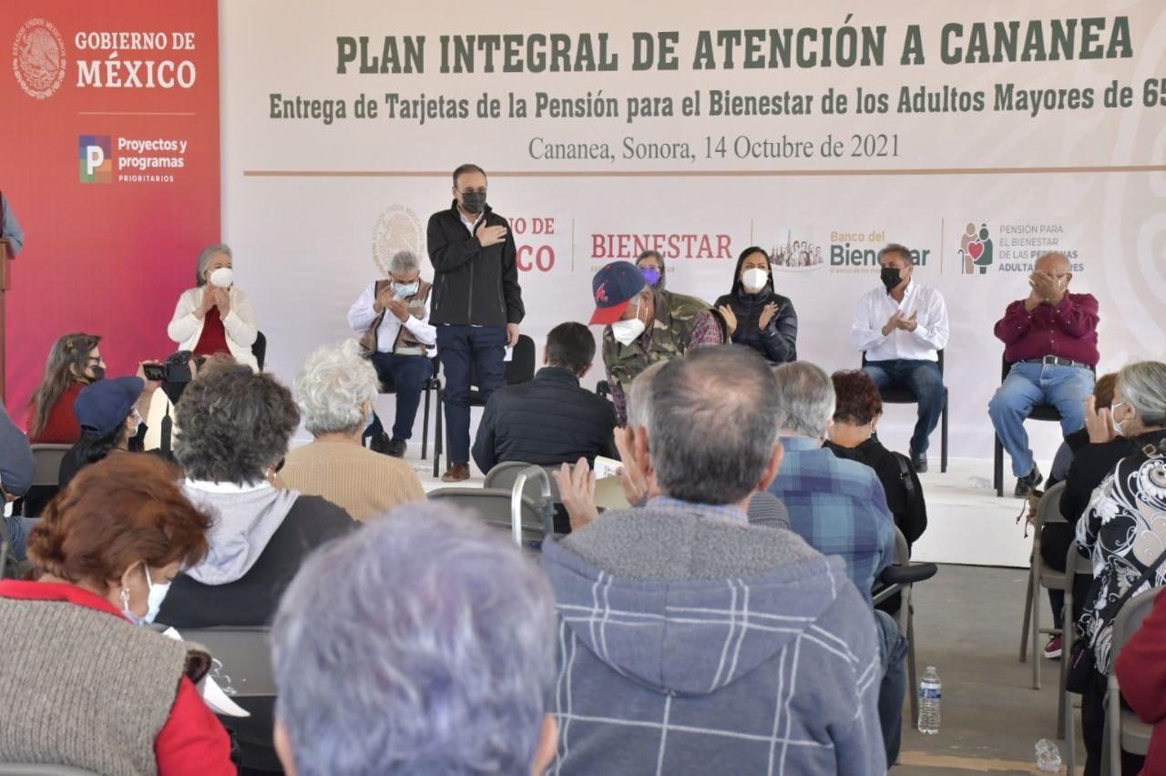 Gobernador Durazo encabeza acciones del Plan de Justicia para Cananea