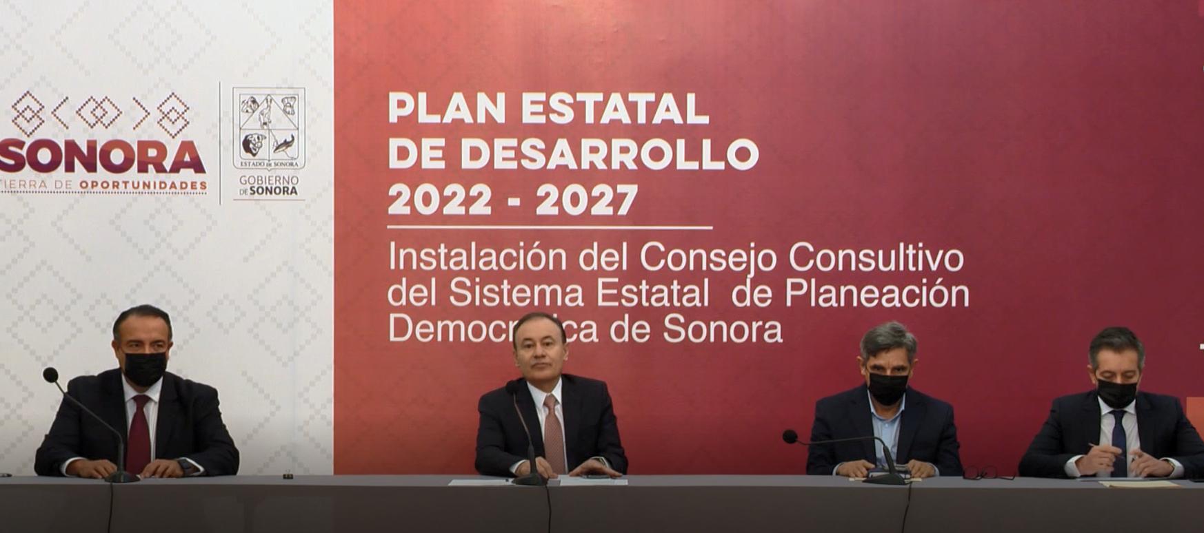 Contaremos con un Plan de Desarrollo justo, sensible y democrático: Alfonso Durazo