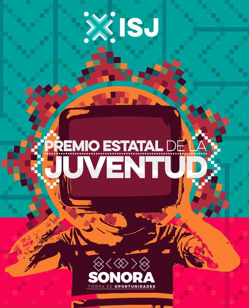 Convoca el Instituto Sonorense de la Juventud (ISJ) a participar en el Premio Estatal de la Juventud 2021