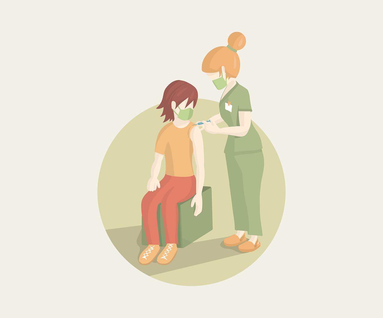 Invita Durazo a registrar a menores de 12 a 17 años para vacunación. Foto de cromaconceptovisual en pixabay